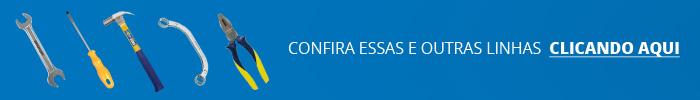 Cinco tipos de ferramenta para direcionar ao site Gaveteiro.com.br