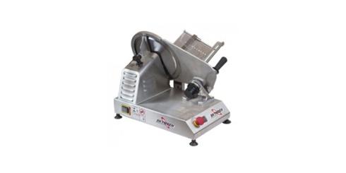 Cortador de frios automático, Skymsen. O cortador de frios é confeccionado em aço inox contém alto nível de corte e qualidade de deslizamento